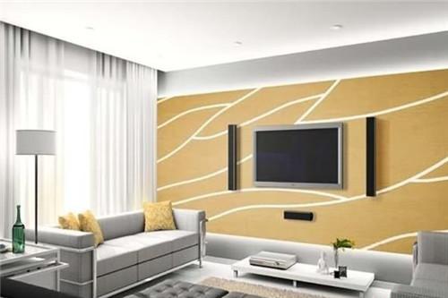 仅看这些硅藻泥电视墙图片 就懂得了硅藻泥的前半生