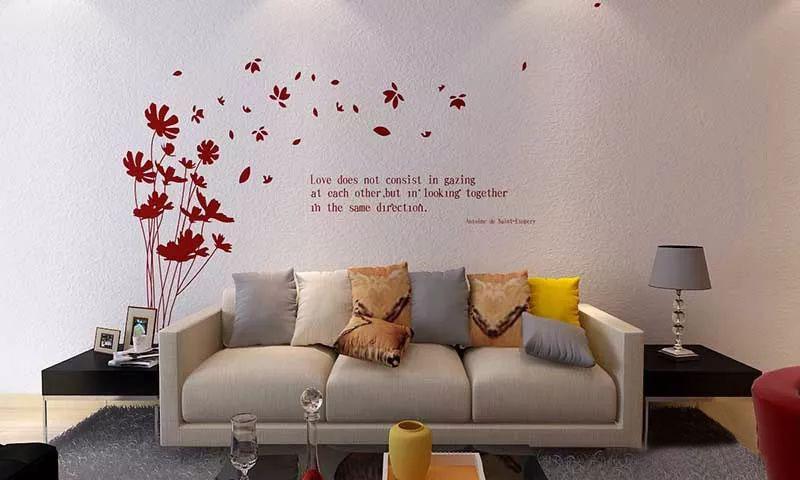 硅藻泥如松肌理,整体风格简约大气,背景墙可以印上部分欧式花型可以